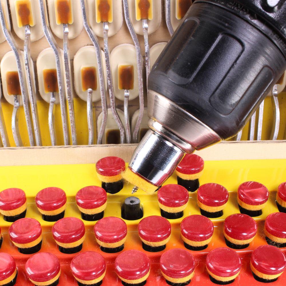 Priprava za strojno vijačenje gumbov - 15 mm