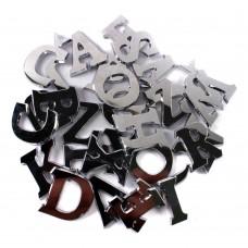 Kovinske črke, abeceda