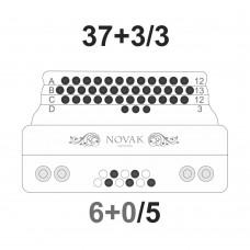 37+3/3 - Glasilke za primarno tipkovnico ter spremljavo