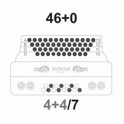 46/3 - Glasilke za primarno tipkovnico ter spremljavo