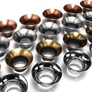 4x Metal Trumpet