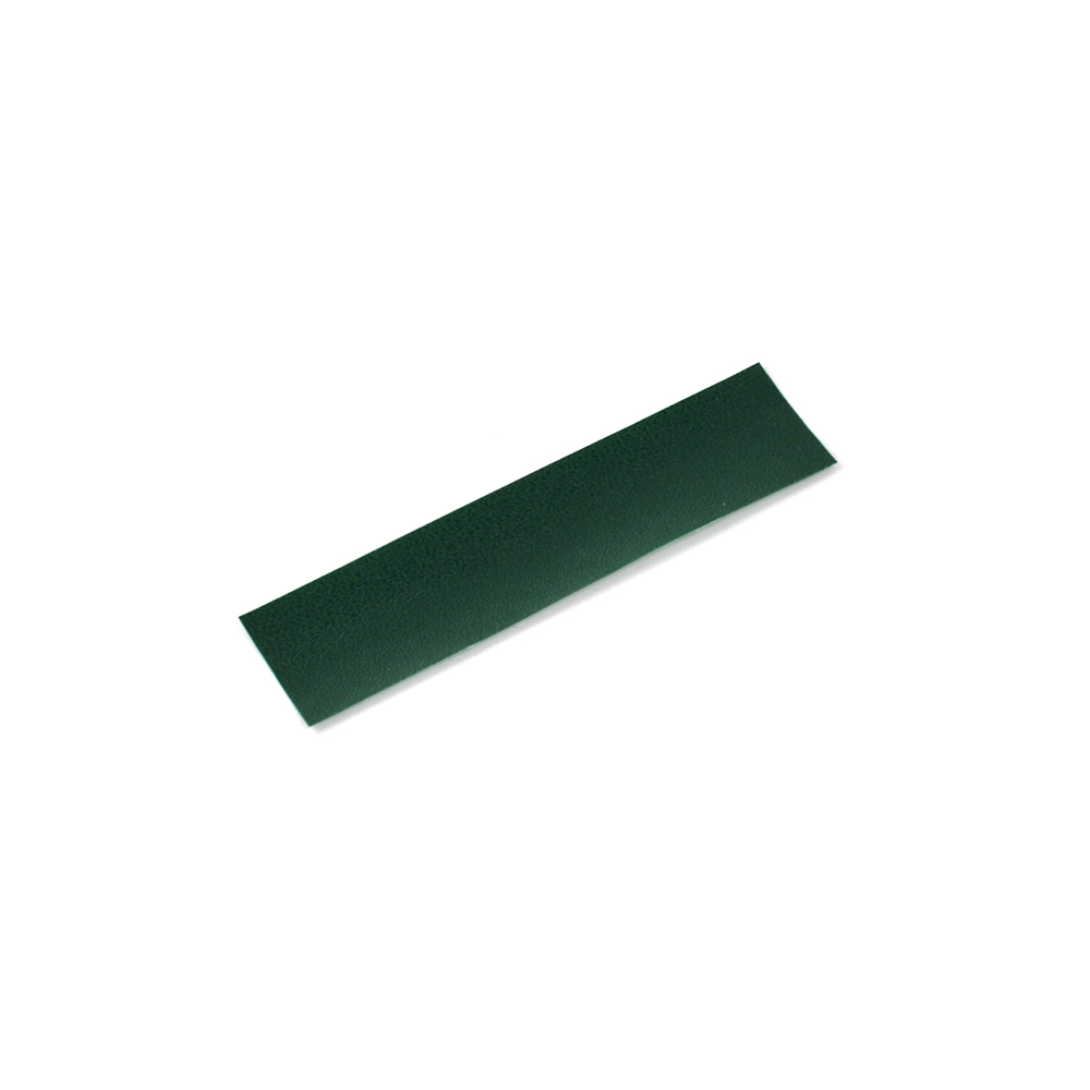 Robni trak 50 mm, gladek - zelena