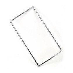 Frame 340 mm x 200 mm - 01 - Chrome Plated