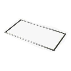 Rahm 380 mm x 200 mm - 01 - alt Silber