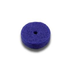 Felt for buttons, 17 mm x 3 mm / 2 mm - violet 31