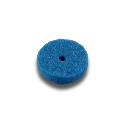 Felt for buttons, 17 mm x 3 mm / 2 mm - blue 33