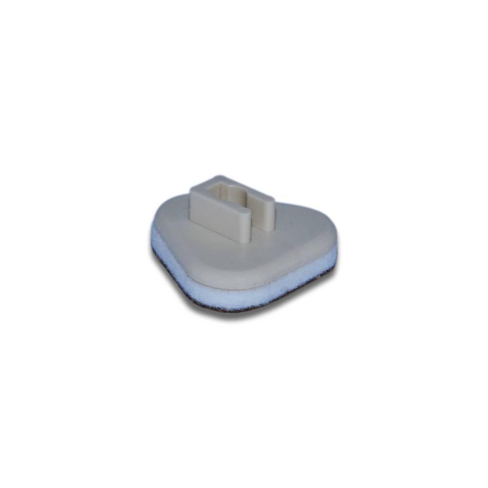 Plastična poklopka s filcem - 2,5 mm - trikotna A