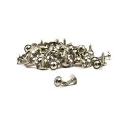 Disc head screw (pcs) - 2,2 mm x 9,5 mm - nickel