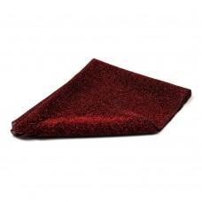 Okrasno blago - 0,5 m x 0,5 m - temno rdeča