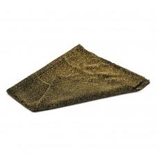 Okrasno blago - 0,5 m x 0,5 m - temno zlata
