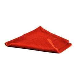 Dekoratives Textil - weich - 0,5 m x 0,5 m - orange