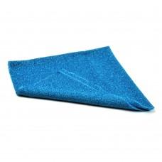 Okrasno blago - 0,5 m x 0,5 m - turkizno modra